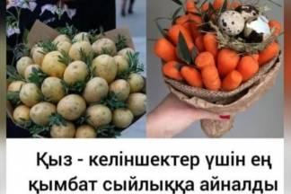 Казахстанцы соревнуются в остроумии, выдумывая всевозможные мемы о подорожании овощей